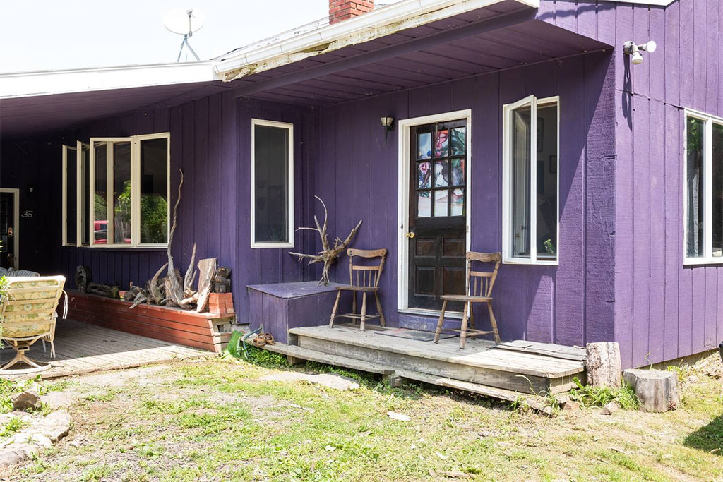 airbnb purple palace magic forest farm Albany New York